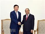 Thủ tướng Nguyễn Xuân Phúc tiếp Chủ tịch Tập đoàn Lotte