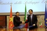 Việt Nam-Italy hướng đến hợp tác kinh tế thiết thực hiệu quả