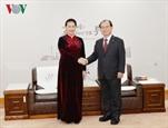 ប្រធានរដ្ឋសភាវៀតណាមលោកស្រី Nguyen Thi Kim Ngan អញ្ជើញទទួលជួប ជាមួយអភិបាលទីក្រុង Busan
