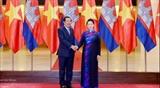 Председатель НС Вьетнама встретилась с Премьер-министром Камбоджи