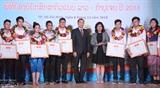 Чествованы выдающиеся лаосские и камбоджийские студенты в г. Хошимине