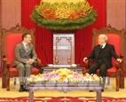 Генеральный секретарь ЦК КПВ Нгуен Фу Чонг принял Посла Франции во Вьетнаме