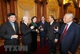 Tổng Bí thư chúc Tết lãnh đạo Đảng Nhà nước và toàn thể đồng bào