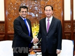 Президент Вьетнама Чан Дай Куанг принял Генерального директора группы TATA