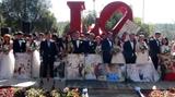 Đám cưới tập thể của 20 cặp đôi ngày Lễ tình nhân tại Đà Lạt