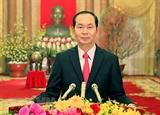 Новогоднее поздравление Президента СРВ Чан Дай Куанга
