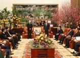 Tổng Bí thư Nguyễn Phú Trọng thăm chúc Tết tại tỉnh Hưng Yên