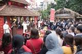 Весенние праздники привлекли внимание большого количества жителей страны