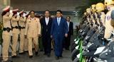 Церемония начала участия сил общественной безопасности в обеспечении транспортной безопасности