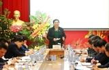 Тонг Тхи Фонг провела рабочую встречу с представителями Фонда социального страхования Вьетнама