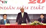Премьер-министр Нгуен Суан Фук потребовал хорошо организовать его встречу с рабочими
