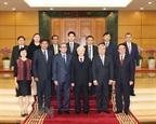Tổng Bí thư tiếp Đại sứ Đại biện ngoại giao các nước ASEAN