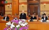 В Ханое прошло совещание Секретариата ЦК КПВ по итогам организации новогоднего праздника