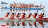 Lễ hội bơi chải thuyền rồng Hà Nội 2018