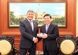 Thành phố Hồ Chí Minh và Ireland hợp tác phát triển công nghiệp chế biến thực phẩm