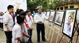 Открылась выставка Жизненная сила Чыонгша – Яркие цвета добровольчества