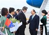 Thủ tướng Nguyễn Xuân Phúc đến Sydney dự Hội nghị ASEAN-Australia
