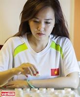 Cao Phuong Thanh jeune joueuse déchecs traditionnels
