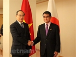 Bí thư Thành ủy Tp. Hồ Chí Minh thăm và làm việc tại Nhật Bản