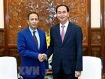Президент Вьетнама принял Посла ОАЭ во Вьетнаме
