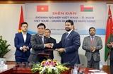 Doanh nghiệp Oman đặt vấn đề nhập khẩu lương thực từ Việt Nam