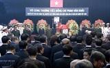 В г.Хошимине состоялась траурная церемония памяти экс-премьера Вьетнама Фан Ван Кхая