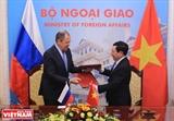 Вице-премьер Фам Бинь Минь провел переговоры с главой МИД России