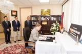 Bạn bè quốc tế tại Mỹ đến viếng nguyên Thủ tướng Phan Văn Khải