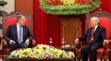 Руководители Вьетнама приняли Министра иностранных дел России