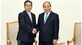 Премьер-министр Вьетнама принял Советника Премьер-министра Японии Министра торговли и промышленности Омана