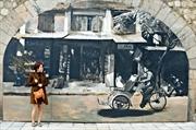 풍흥(Phùng Hưng)의 벽화거리