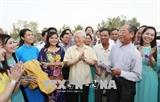 អគ្គលេខាលោក Nguyen Phu Trong ទៅបំពេញទស្សនកិច្ចការងារនៅខេត្ត An Giang