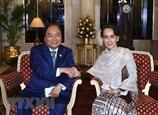 Thắt chặt hơn nữa quan hệ Đối tác hợp tác toàn diện Việt Nam-Myanmar