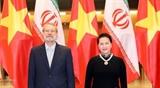 Председатель НС Вьетнама провела переговоры со Спикером Исламского консультативного совета Ирана