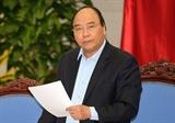 នាយករដ្ឋមន្ត្រី Nguyen Xuan Phuc អញ្ជើញជាអធិបតីកិច្ចប្រជុំគណៈបញ្ជាណែនាំជាតិស្តីពីការកសាងមណ្ឌលពិសេស