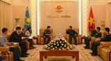 Вьетнам и Казахстан укрепляют сотрудничество в области обороны и безопасности
