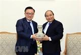 Thủ tướng Nguyễn Xuân Phúc tiếp Tổng Giám đốc Tập đoàn Samsung