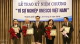 20 личностей удостоены памятной медали за вклад в деятельность ЮНЕСКО во Вьетнаме
