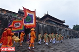 Royal rituals restored in the former imperial capital