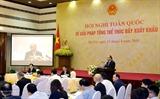 Премьер Вьетнама Нгуен Суан Фук: Нужно изменить взгляды на стратегию экспорта