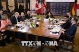ໄຂກອງປະຊຸມລັດຖະມົນຕີກະຊວງການຕ່າງປະເທດ ແລະ ກະຊວງປ້ອງກັນຄວາມສະຫງົບ G7