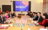 Вице-президент СРВ Данг Тхи Нгок Тхинь находится в Австралии с визитом