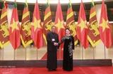 Глава Нацсобрания Вьетнама провела переговоры со спикером парламента Шри-Ланки