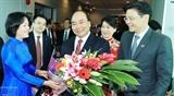 Премьер-министр Вьетнама начал официальный визит в Сингапур