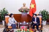 Вице-премьер СРВ Фам Бинь Минь принял госсекретаря при главе МИД Марокко