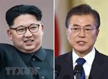 Lãnh đạo Triều Tiên và Tổng thống Hàn Quốc bắt tay nhau tại Khu Phi quân sự
