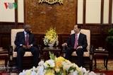 Президент Вьетнама Чан Дай Куанг принял иностранных послов