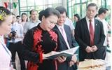 Председатель Нацсобрания СРВ посетила Академию науки и технологий Вьетнама