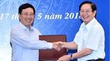 Состоялось совместное рабочее совещание вьетнамских Министерств