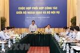 Координируются действия между министерствами иностранных дел и внутренних дел Вьетнама